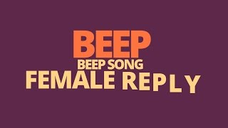 Girls Reply Beep Song For Simbu'S Beep Song