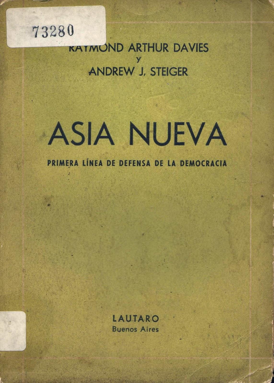 Descargar libro «Asia nueva. Primera línea de defensa de la democracia» Tapa%2BAsia%2BNueva