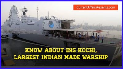 Know about INS Kochi