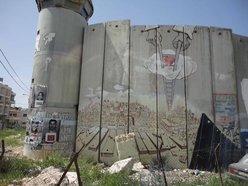 Palestina:el Muro de la Vergüenza