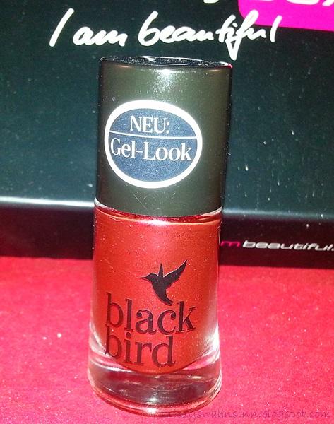 Black Bird Gel-look Nagellack