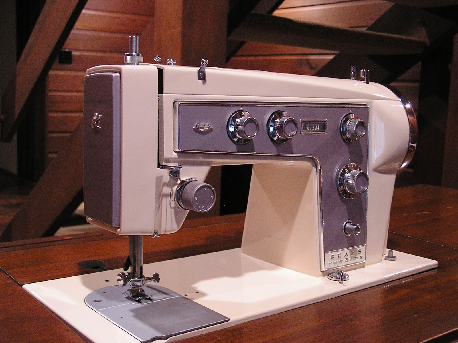 kenmore sewing machine. the model 90 is one of most elegant machines i own. kenmore sewing machine