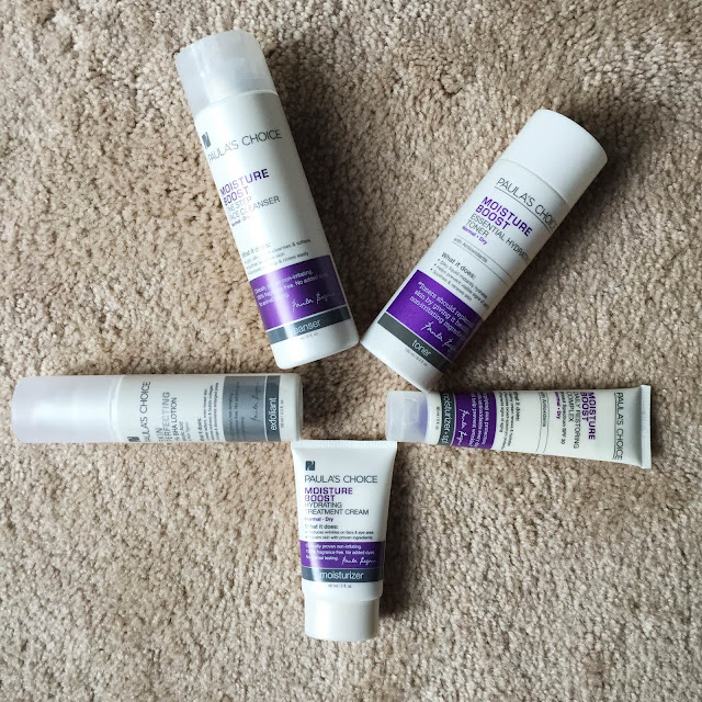 Paula's Choice, PRIMP, Pretty In My Pocket, Paula's Choice Moisture Boost Collection, skincare, skin care