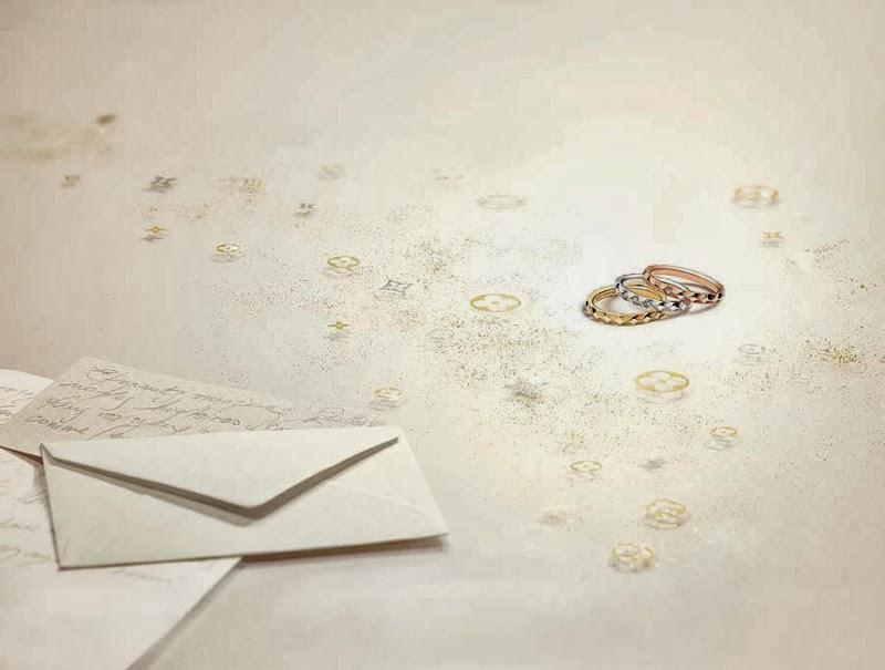 Luxury Life Design Louis Vuitton Wedding Bands