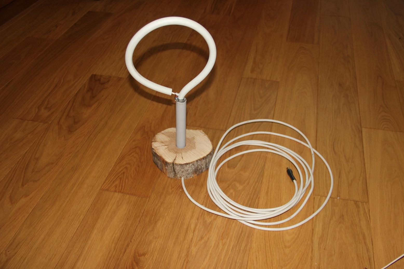 Как сделать антенну для цифрового тв из кабеля