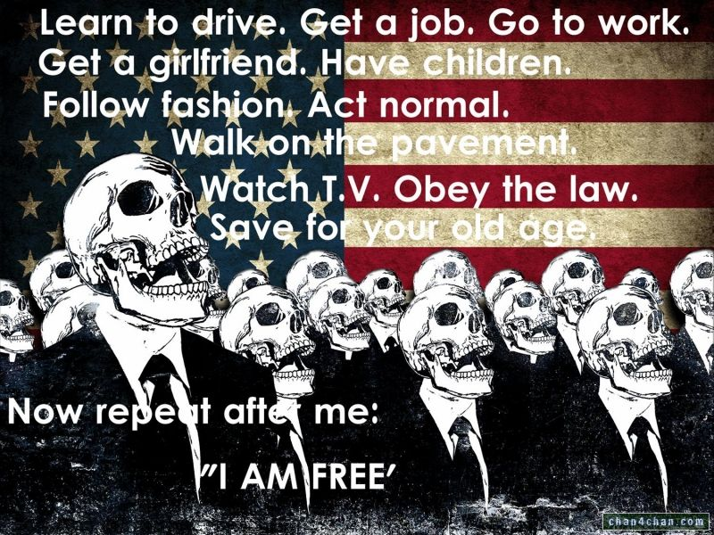 [IMPORTANT] Anon attack on facebook Nov 5th I-am-free-skulls-flag-america-drive-job-work-girlfriend-children-fashion-normal-pavement-tv-obey-law-save-repeat-after-me