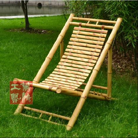 If It Is In Summer, We Need A Cool Deck Chair To Relax Ourselves At Dusk.  The Bamboo Chair Is The Best Choice. You Can Imagine The Cool Feeling  Bought By ...