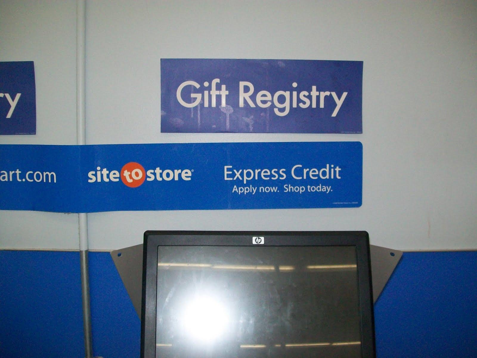 My Walmart Baby Registry Experience