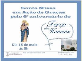 ANIVERSÁRIO DO TERÇO DOS HOMENS DA PARÓQ.N.S.GUIA - LINS DE VASCONCELOS