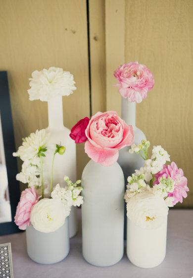 Centros de mesa con botellas de vino ii - Centros decorativos para mesas ...