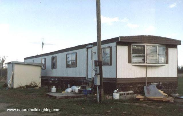 Casa móvil (trailer) norteamericana típica