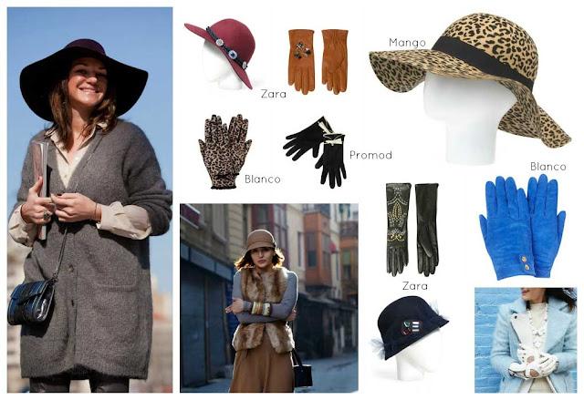 Guantes y sombrero 1