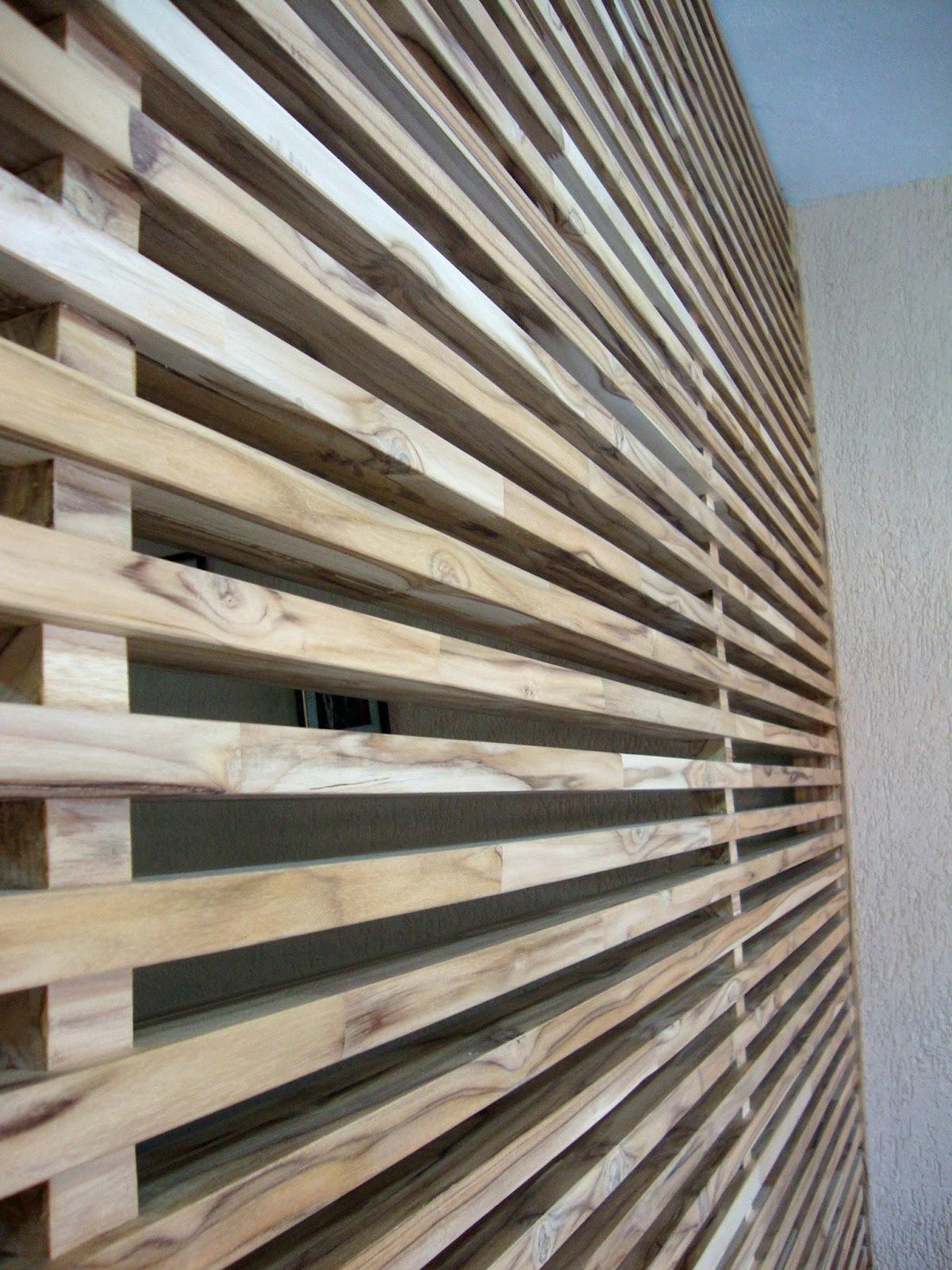 Teakdesign: Divisórias com a madeira teca #7C6B4F 1200x1600