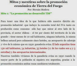 "Mitos Sobre la Promoción Económica de TDF y del ""Impuestazo Tecnológico"""