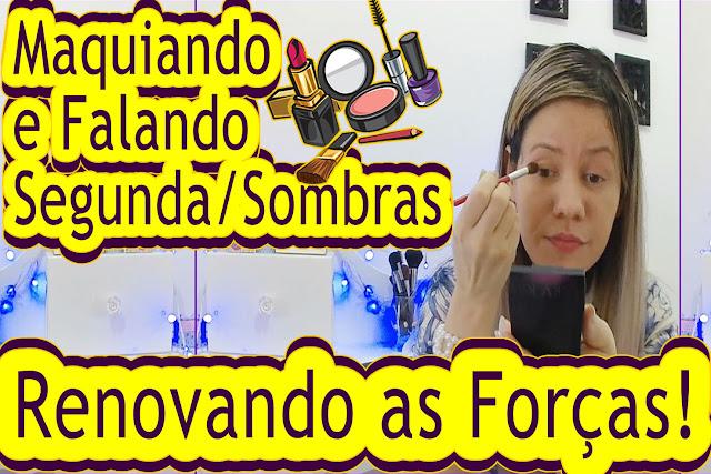 Blog roxachic.com 1Semana Juntas Maquiando e Falando | Segunda-Feira, Quais Sombras Usar? Renovando as Forças!