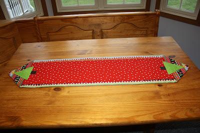 Sew It S Midnight Mama Christmas Table Runner