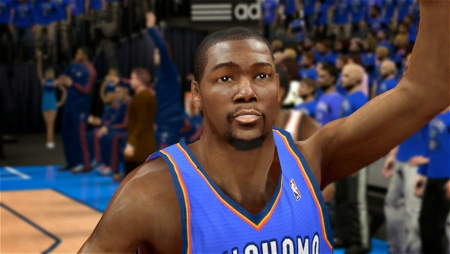 NBA 2K14 Realistic KD 35 Face Mod