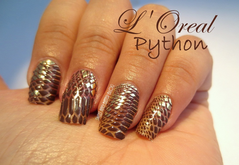 L Oreal Color Riche Nail Art In Python Snakeskin
