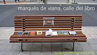 23 de Abril: Marqués de Viana, calle del libro