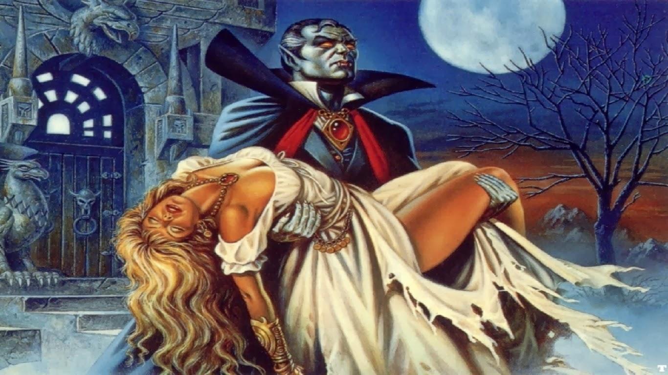 Вампир и его жертва