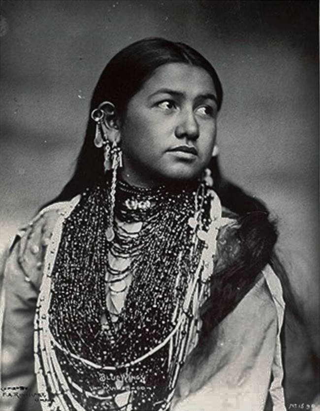 Black native american women art