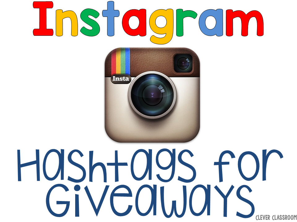 Instagram hashtags for giveaways