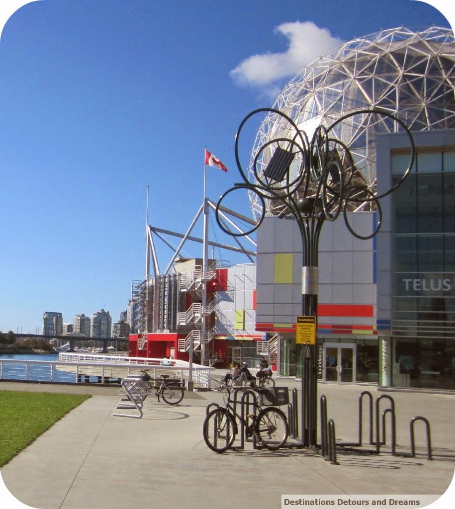 Solar Bike Tree