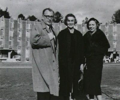Eero et Aline Saarinen (à droite) Vassar, Poughkeepsie, NY, 1954-1958