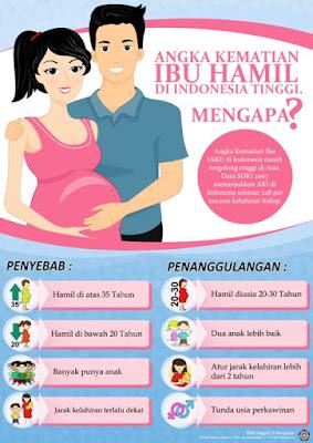 Poster Kesehatan Untuk Ibu Hamil