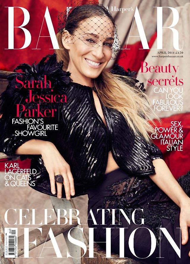 Sarah Jessica Parker en Harper's Bazaar Magazine