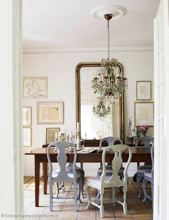 A Perfect Gray Good Dining Room Mixes