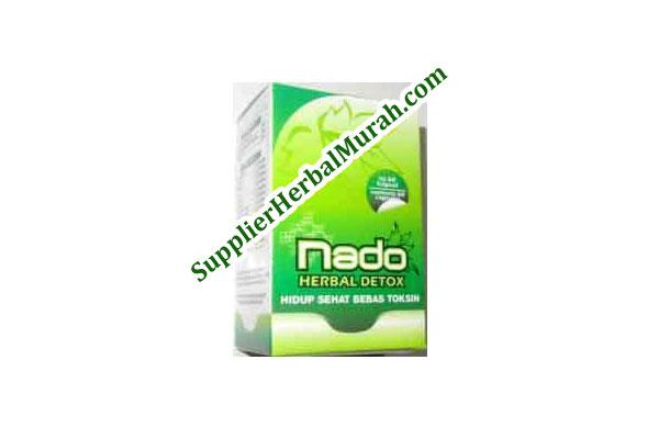 GROSIR Nado Herbal Detoksifikasi 60 Kapsul 10 Botol