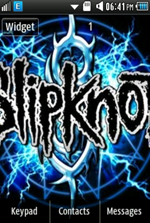 Other Slipknot Band Samsung Corby 2 Theme Wallpaper