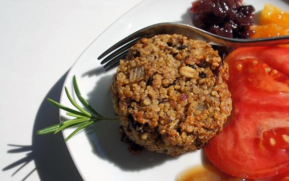 Boulettes De Quinoa Aux Champignons