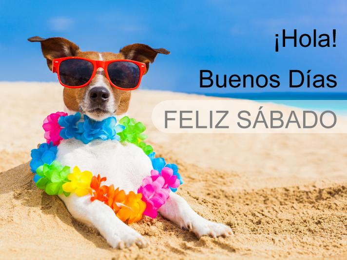 BANCO DE IMÁGENES: ¡Hola! - Buenos días - Feliz Sábado