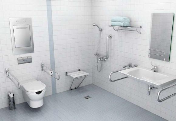 Marzua adaptar un cuarto de ba o sin barreras - Agarraderas para bano ...