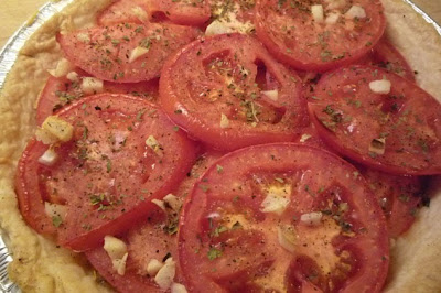 Tomato Cheddar Pie