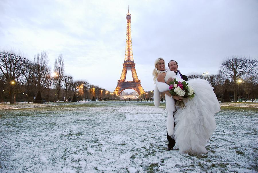 Свадьба в париже ваша романтическая