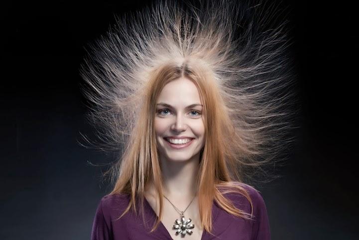 Glindur bazar beauty blog a bas l 39 lectricit statique quelques astuces capillaires - Comment enlever l electricite statique ...