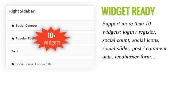desc widgets Lead Press   Flexible Magazine WordPress Theme