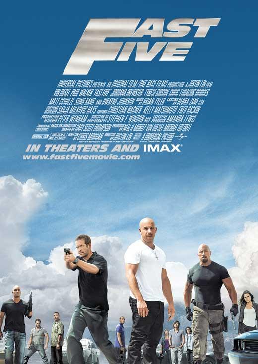 Fast five (Fast & furious 5) (Rápidos y furiosos 5in control) (A todo gas 5) (Rápido y furioso 5) (2011) Español Latino