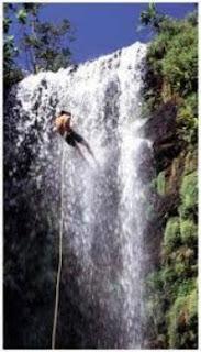 rapel de cachoeira