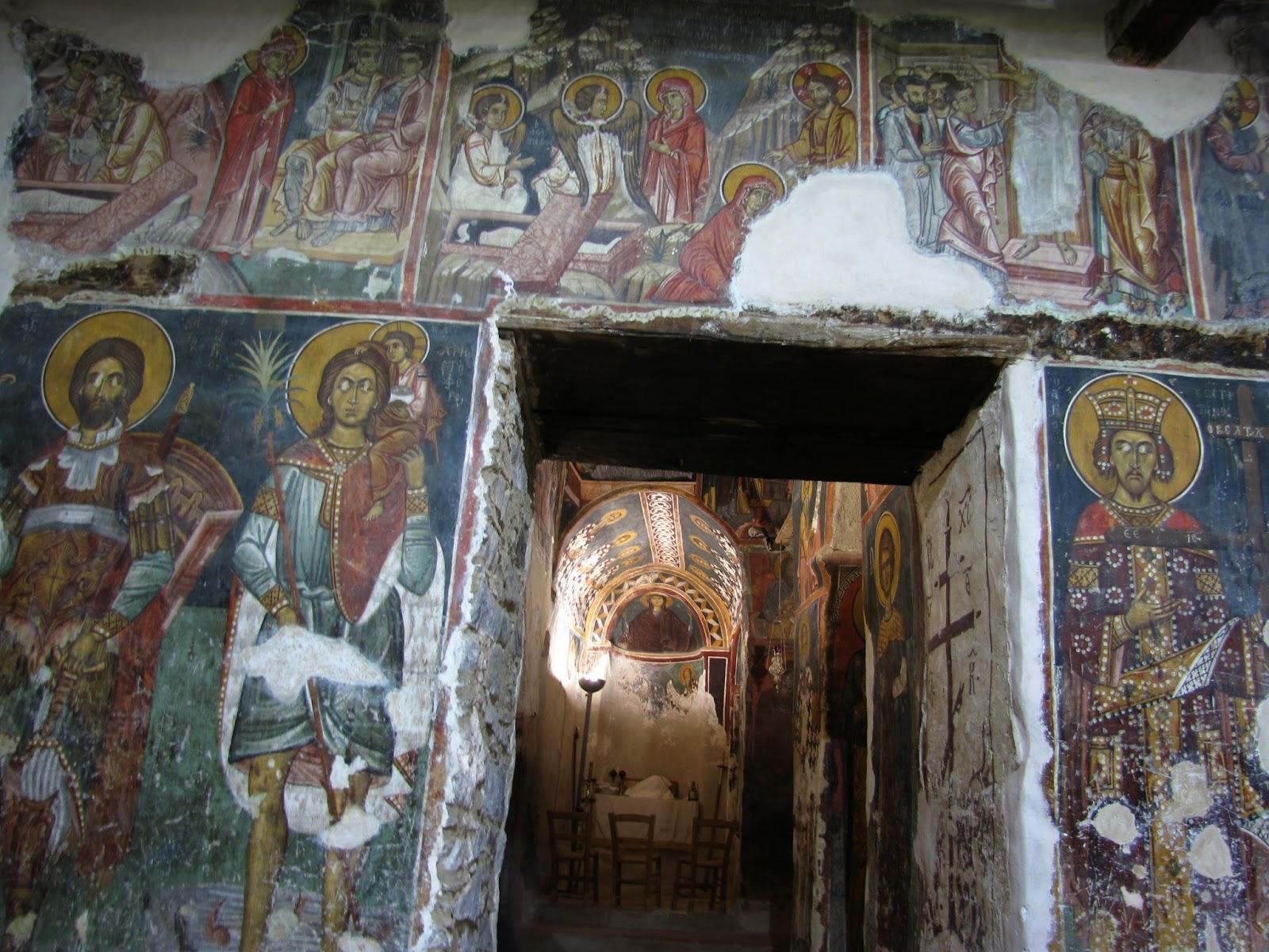Chipre - Troodos - Monasterio de Agios Ioannis Lambadistis
