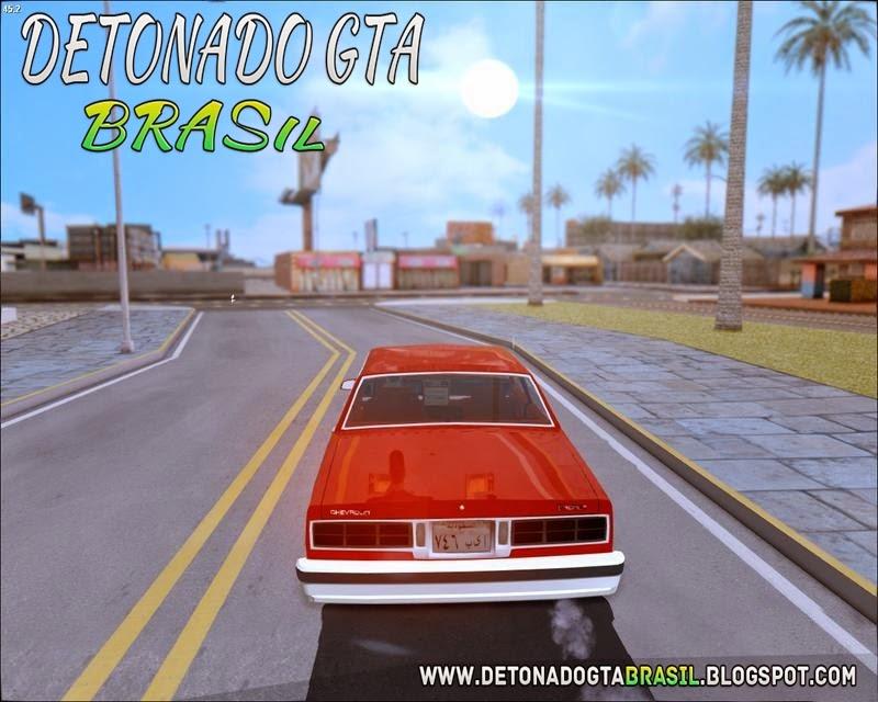 ClickClacks ENB V1 para o GTA San Andreas