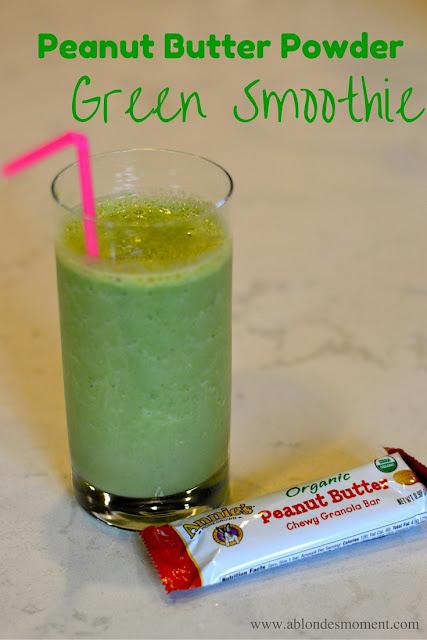 peanut-butter-powder-green-smoothie