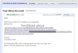 Register Account Alexa