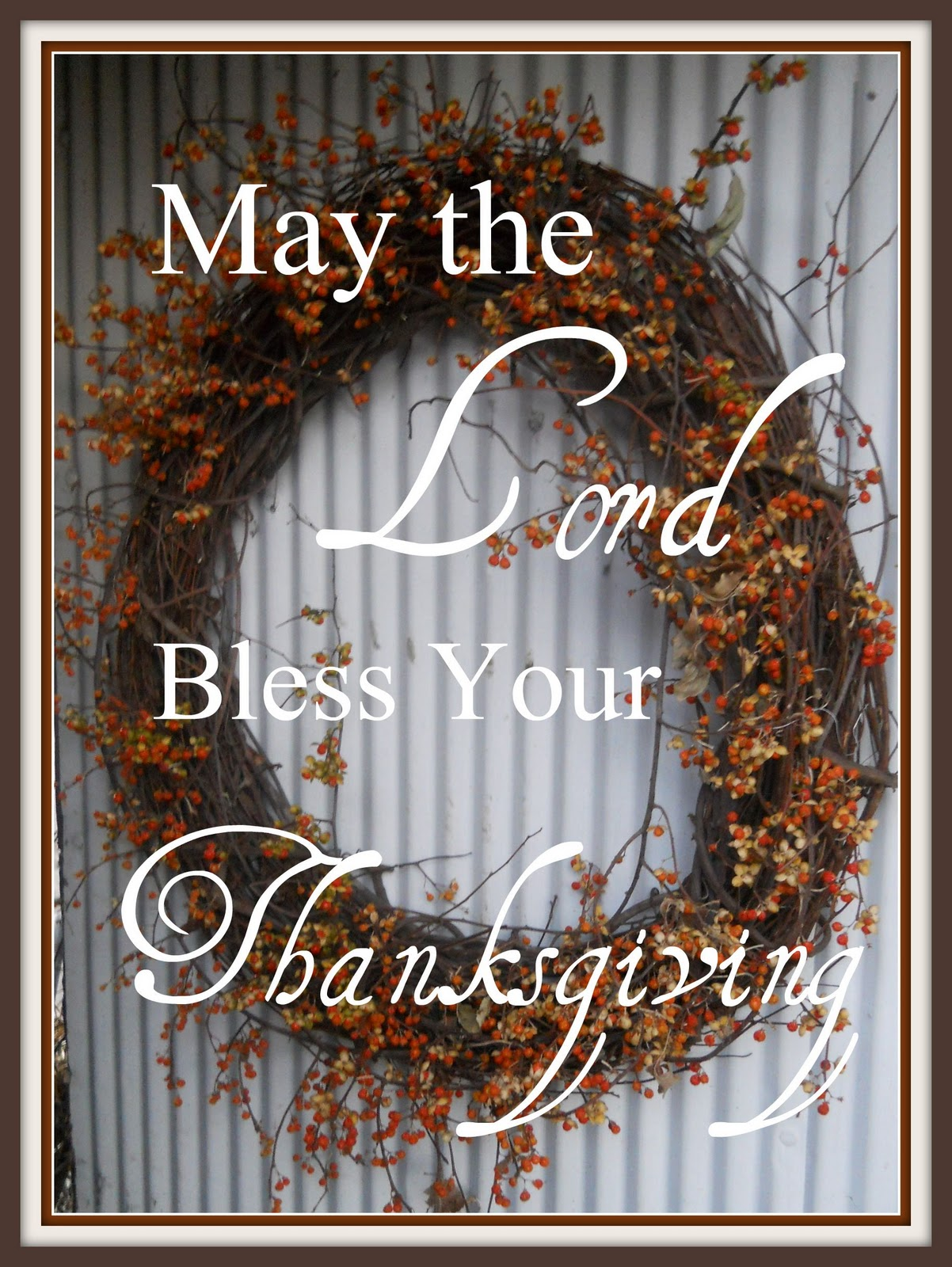 thanksgiving blessings sweet
