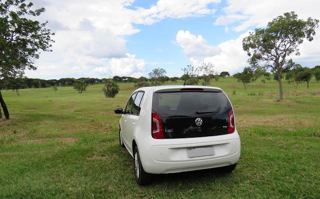 Volkswagen Up! TSI com 10.000 Km de uso