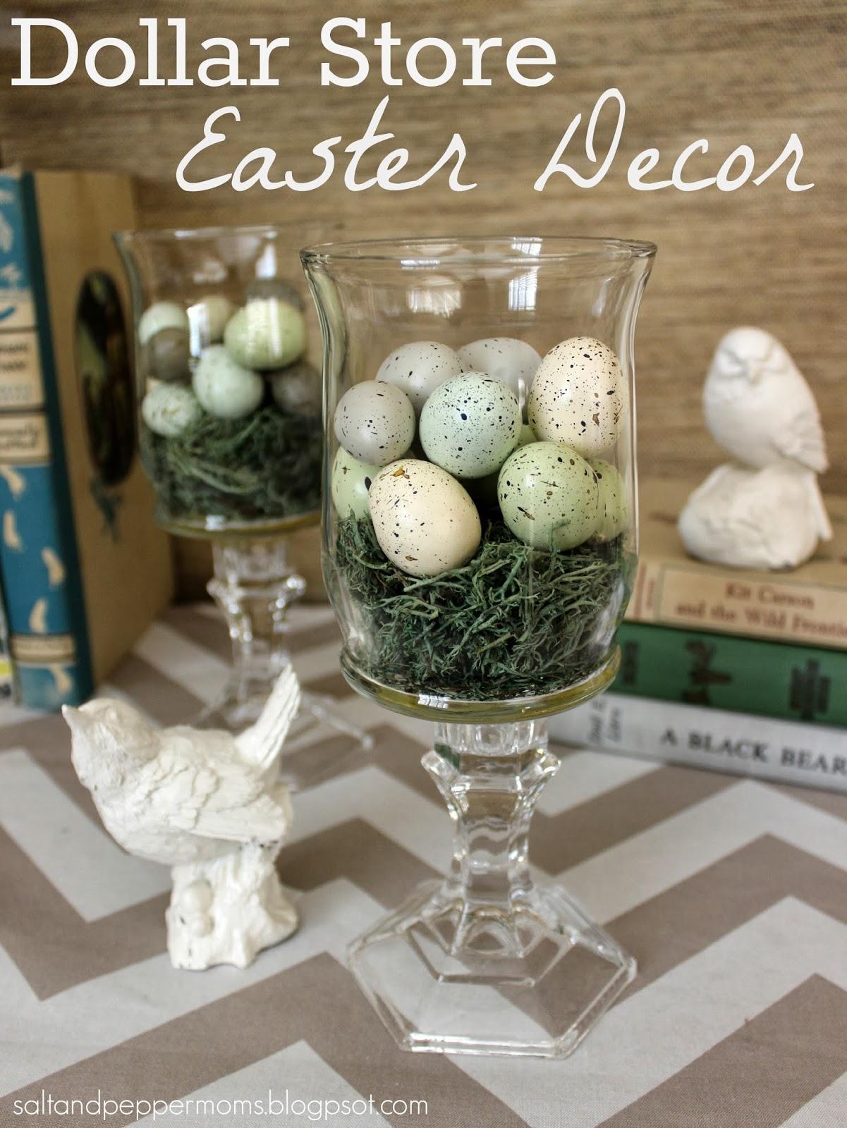 Dollar Store Easter Decor Salt And Pepper Moms Bloglovin
