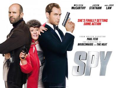 Sinopsis Film Spy 2015